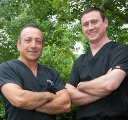 Dr. Justin Hardion and Dr. Jean-Claude Kharmouche